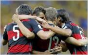 Alemania le dio una paliza hist�rica a Brasil y es finalista del Mundial