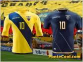 Estos son los uniformes de Ecuador para los partidos de la Copa Am�rica Centenario
