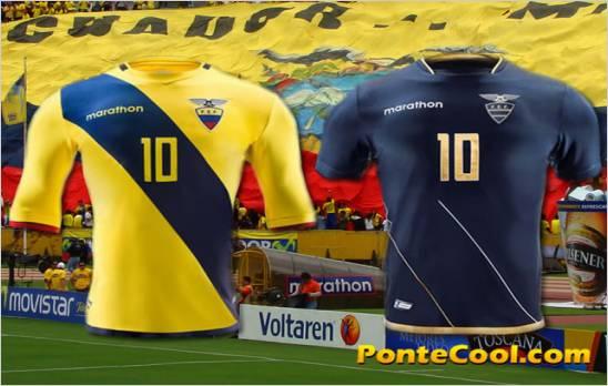 Estos son los uniformes de Ecuador para los partidos de la Copa América Centenario