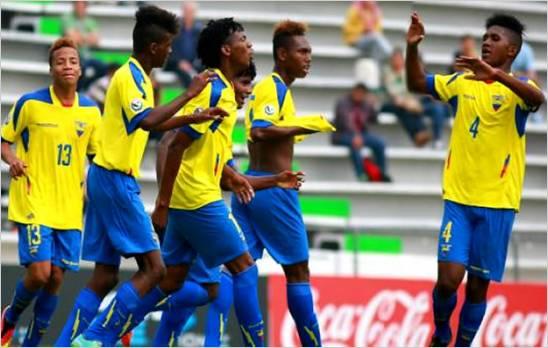 Ecuador Sub-16, campe�n de la Copa M�xico de Naciones