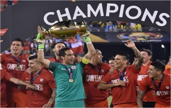 Chile campeon de la Copa America Centenario 2016,  supero a Argentina en los penales