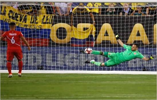 Colombia elimino a Peru en penales y es semifinalista