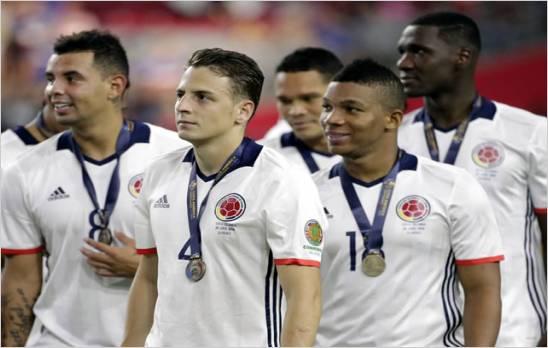 Colombia logro el tercer puesto: al derrotar por 1-0 a EE.UU en la Copa América 2016