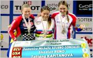 Dom�nica Azuero, campeona mundial de bicicross en Rotterdam, Holanda