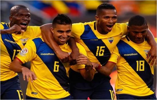 Ecuador a repetir victoria de hace 23 a�os ante Estados Unidos