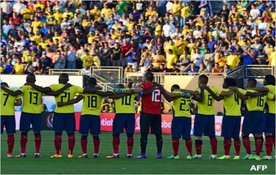 Ecuador empato 0-0 con Brasil, el arbitro invalido legitimo gol ecuatoriano