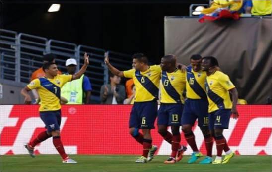 Ecuador goleo 4-0 a Haiti y clasifico a cuartos de final de la Copa America Centenario