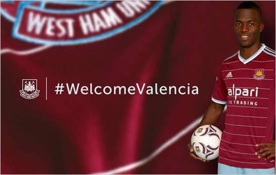 Enner Valencia es presentado como jugador del West Ham United