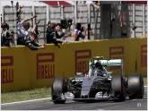 Nico Rosberg gan� su primer circuito en el GP de Espa�a